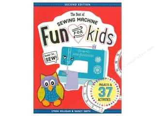 FunStitch Studio By C&T The Best Of Sewing Machine Fun For Kids Second Edition Book