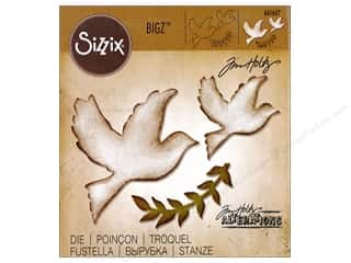 Sizzix Dies Tim Holtz Bigz Enchanted Doves