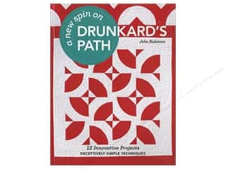 books & patterns: A New Spin on Drunkard's Path: 12 Innovative Projects - Deceptively Simple Techniques Book by John Kubiniec