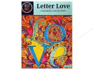 Design Originals Letter Love Coloring Book