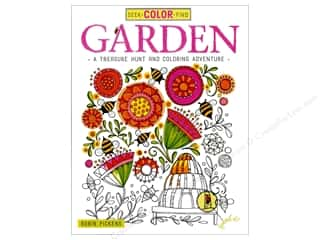 books & patterns: Design Originals Garden Coloring Book