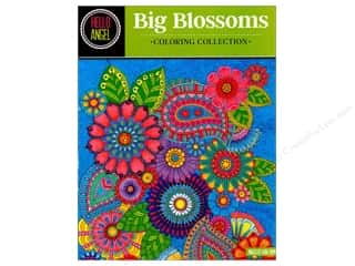 books & patterns: Design Originals Big Blossoms Coloring Book
