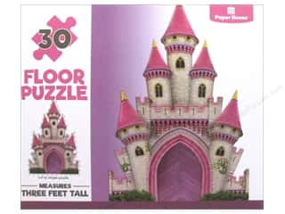 Paper House Puzzle Floor Magical Castle 30pc
