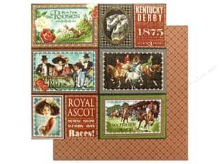 Graphic 45 12 x 12 in. Paper Off To The Races Royal Ascot (25 sheets)