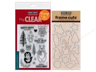 die cutting machines: Hero Arts Stamp & Cuts Holiday Animals