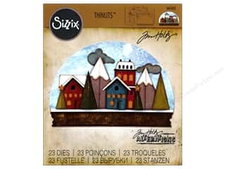 die cuts: Sizzix Thinlits Die Set 23 pc. Snowglobe