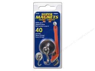 art, school & office: The Magnet Source Swinging Magnetic Hook 1 pc.