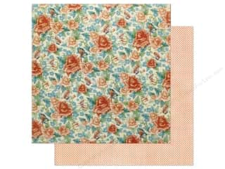 Graphic 45 12 x 12 in. Paper Cafe Parisian Floral Souffle (25 sheets)