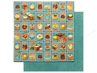 Graphic 45 12 x 12 in. Paper Cafe Parisian Postage Patisserie (25 sheets)