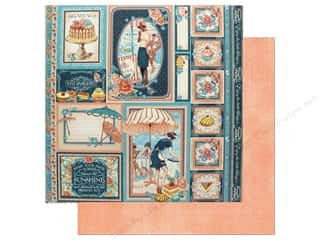 Graphic 45 12 x 12 in. Paper Cafe Parisian Creme de la Creme (25 sheets)