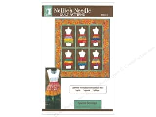 string: Nellie's Needle Apron Strings Pattern