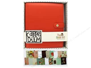 Simple Stories: Simple Stories Collection Carpe Diem Reset Girl A5 Planner Set Persimmon