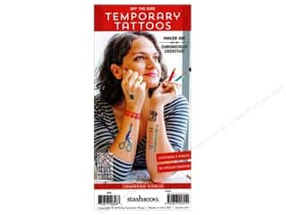 scrapbooking & paper crafts: Stash By C&T Temporary Tattoos Samarra Khaja