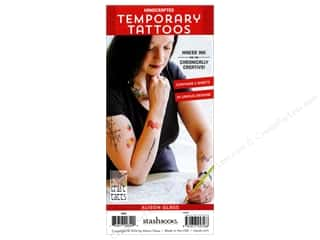 beading & jewelry making supplies: Stash By C&T Temporary Tattoos Alison Glass