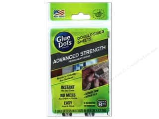 glues, adhesives & tapes: Glue Dots Double Sided Sheet Permanent Advanced Strength 5pc