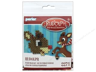 Perler Fused Bead Kit Trial Rudolph the Red Nosed Reindeer Rudolph