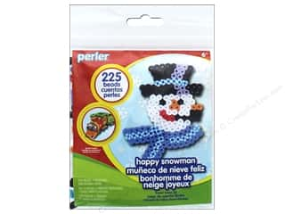 beading & jewelry making supplies: Perler Fused Bead Kit Trial Happy Snowman