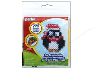 beading & jewelry making supplies: Perler Fused Bead Kit Trial Santa Penguin