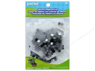 beading & jewelry making supplies: Perler Fused Bead Kit Pegboard Elephant