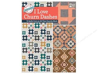 Clearance: Block-Buster Quilts - I Love Churn Dashes Book