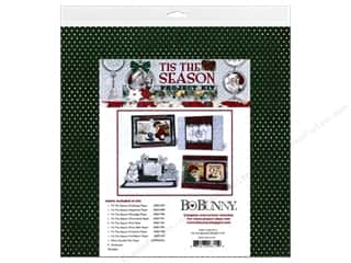 Projects & Kits: Bo Bunny Project Kit Tis The Season Christmas Card