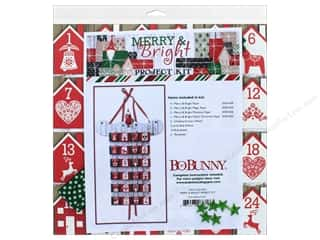 Projects & Kits: Bo Bunny Project Kit Merry & Bright Advent Calendar