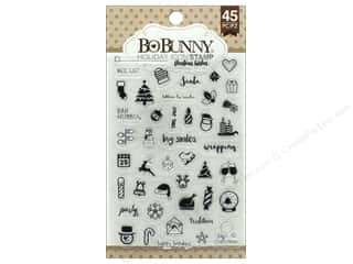 stamp: Bo Bunny Clear Stamps Holiday Icon