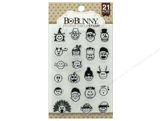 stamps: Bo Bunny Clear Stamps Festive Emoji