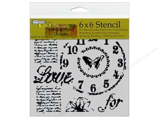 ruler: The Crafter's Workshop Template 6 x 6 in. Rebekah Meier Designs Time For Love