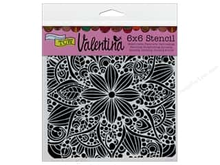 ruler: The Crafter's Workshop Template 6 x 6 in. Valentina Doodle Bloom