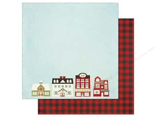 "Simple Stories Collection Classic Christmas Paper 12""x 12"" City Sidewalks (25 pieces)"