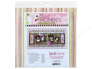 projects & kits: Bo Bunny Project Kit Sweet Moments 2 Page Layout