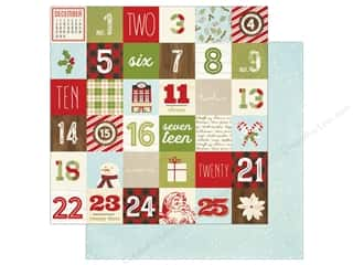 "Simple Stories Collection Classic Christmas Paper 12""x 12"" Elements 2""x 2"" (25 pieces)"