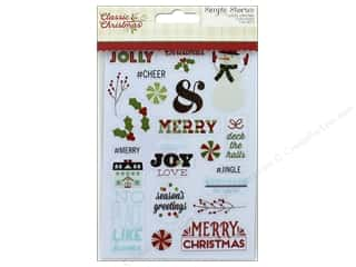 Simple Stories Collection Classic Christmas Sticker Clear (3 sets)
