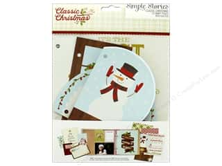 Simple Stories: Simple Stories Collection Classic Christmas Snap Pages (3 sets)
