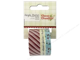 washi tape: Simple Stories Collection Classic Christmas Washi Tape (3 sets)