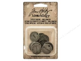 Tim Holtz Idea-ology Typed Tokens Halloween