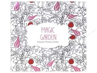 Barron's Magic Garden Coloring Book