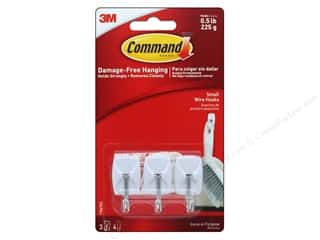 craft & hobbies: Command Adhesive Hook Wire Small 3pc