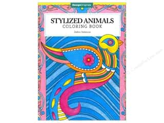 books & patterns: Design Originals Stylized Animals Coloring Book
