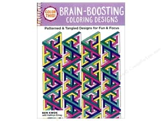 books & patterns: Design Originals Brain Boosting Coloring Book