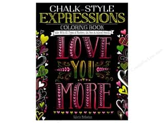 Design Originals Chalk-Style Expressions Coloring Book