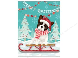Molly & Rex Note Oh What Fun Pocket Pad Merry Christmas Dog