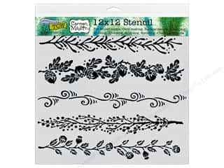 ruler: The Crafter's Workshop Template 12 x 12 in. Fanciful Borders