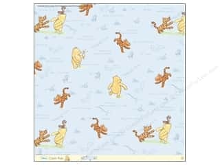 EK 12 x 12 in. Paper Disney Pooh Hello Little Friend Thermography (12 sheets)