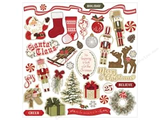 "Photo Play Collection Holiday Cheer Sticker 12""x 12"" Elements Picture"