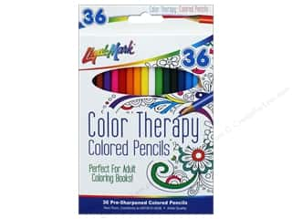 craft & hobbies: Liquimark Colored Pencil Set Color Therapy 36 pc