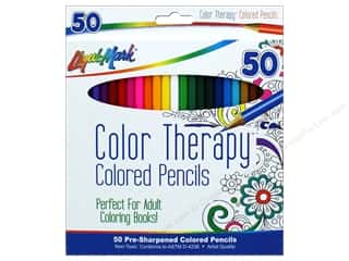 craft & hobbies: Liquimark Colored Pencil Set Color Therapy 50 pc