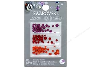 craft & hobbies: Cousin Swarovski Flatback Mix Brights 2 80pc