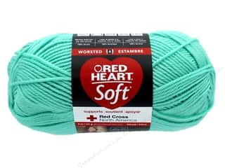 Red Heart Soft Yarn 256 yd. #4620 Minty